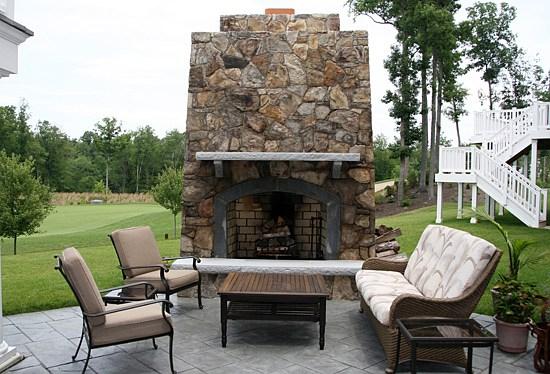 Outdoor Kitchen Photos, Outdoor Fireplaces Photos, Manassas, VA