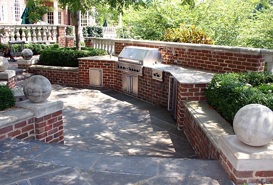 Outdoor Kitchen Photos Outdoor Fireplaces Photos Manassas VA – Brick Outdoor Kitchen