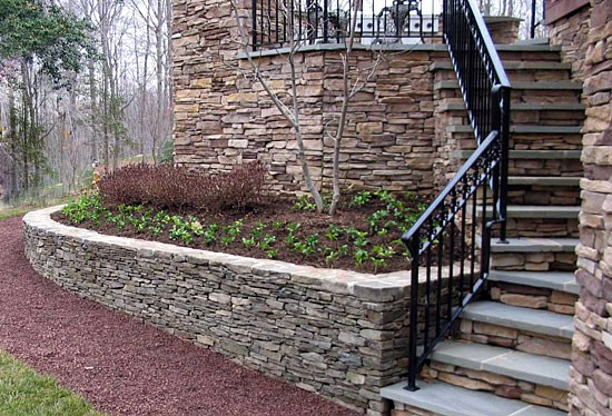 Retaining Walls Columns Entry Features Walkways In
