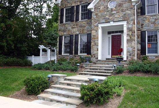 Landscaping Stone Maryland : Patio photos walkway paver manassas va